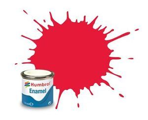 Humbrol 238 Arrow Red Gloss - 14ml Enamel Paint