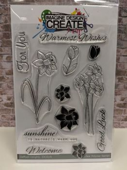Daffodile Delights : IDC145 - A5 Stamp set