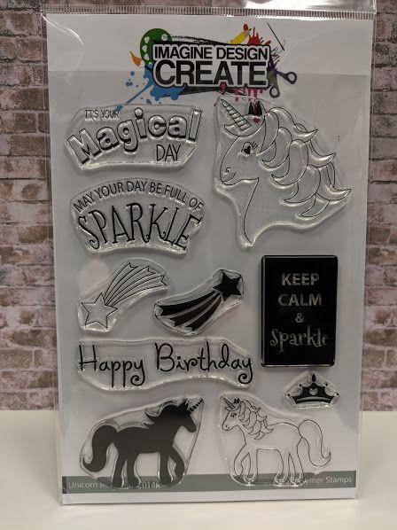 Unicorn Magic : IDC146 - A5 Stamp set
