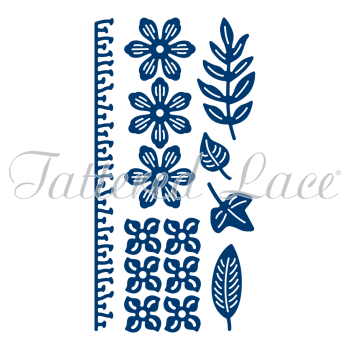 Tattered Lace - Botanical Blooms