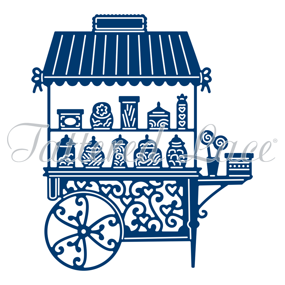 Tattered Lace - Candy Cart