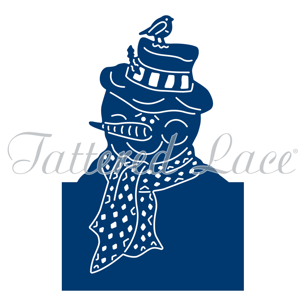 Tattered Lace - Christmas Cuties Snowman