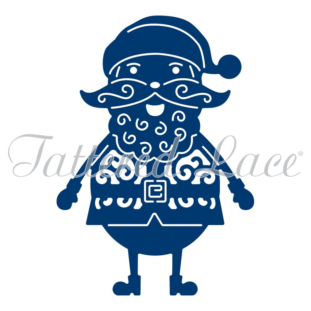 Tattered Lace - Jolly Santa