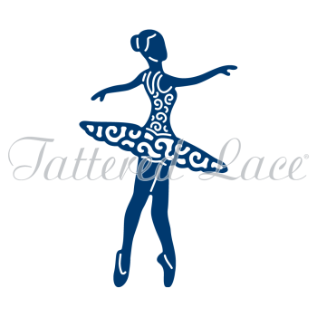 Tattered Lace - Spinning Charm Ballerina