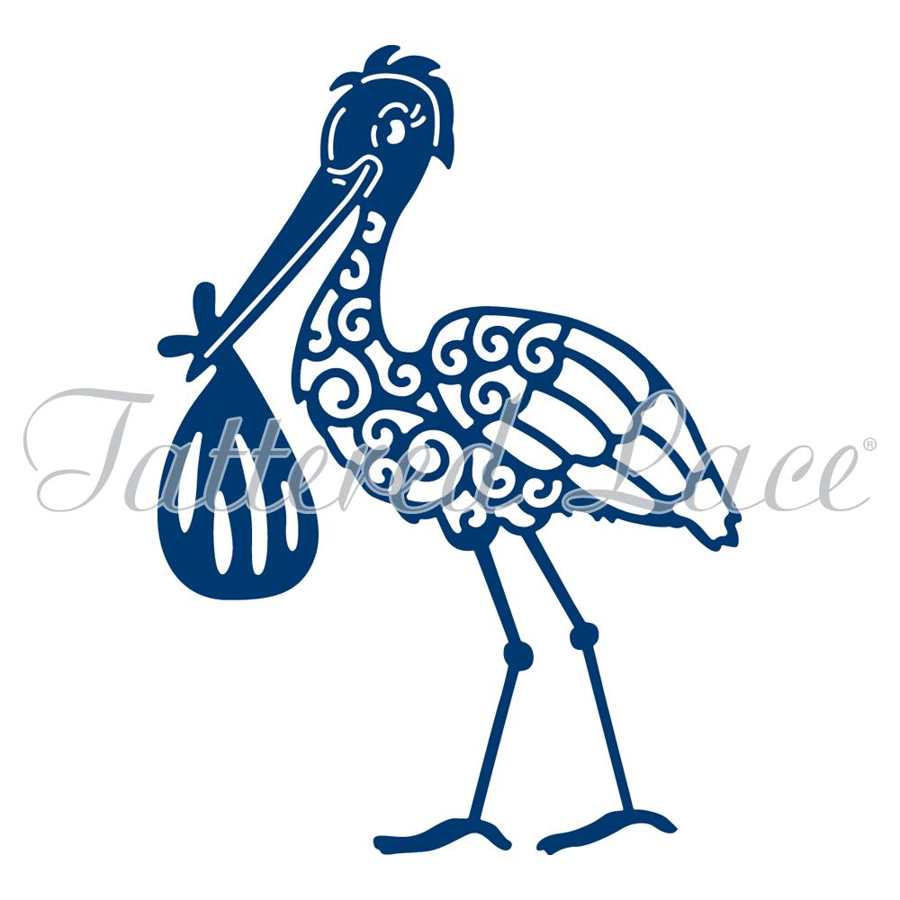 Tattered Lace - Stork