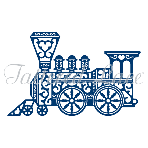Tattered Lace - Vintage Train