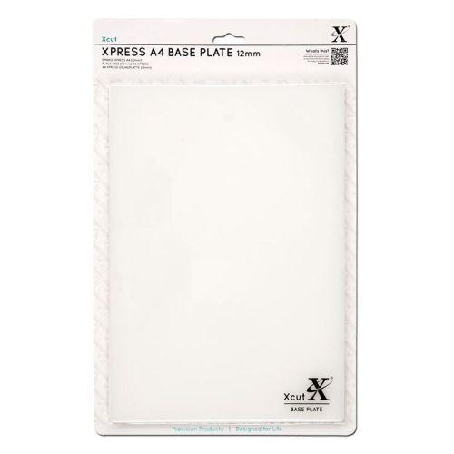 A4 Xpress Base Plate (12mm) Translucent
