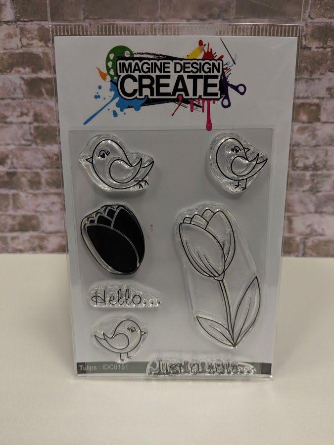 Tulips : IDC0151 - A7 stamp set