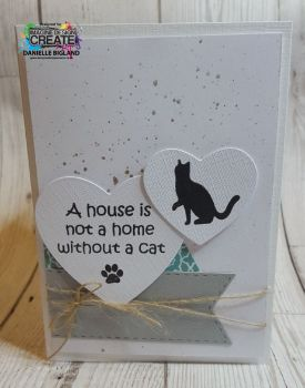 house is not a home cat card