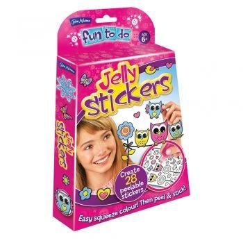Jelly Stickers Owls Fun to do Kit
