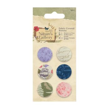 Nature's Gallery Fabric Covered Buttons