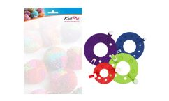 KnitPro Rejoice Pompom Makers - 4 sizes