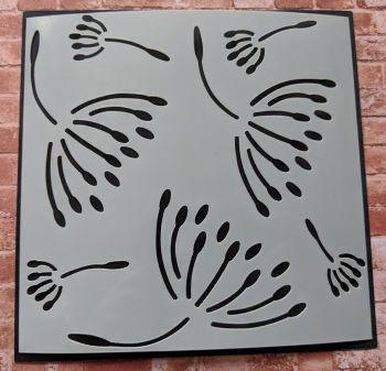 "Dandelions 6x6"" Stencil / Mask"