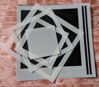 "Squares 6x6"" Stencil / Mask"