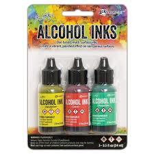 Alcohol inks - Key West