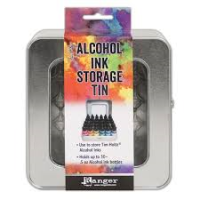Alcohol Ink Storage Tin