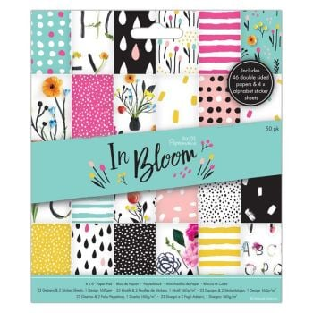 "6 x 6"" Paper Pad (50pk) - In Bloom"