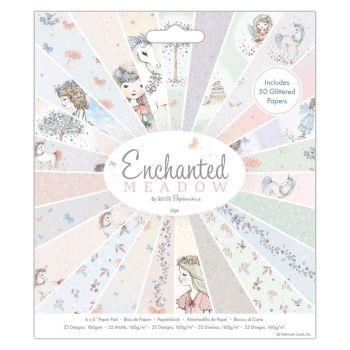 "6 x 6"" Paper Pad (50pk) - Enchanted Meadow"