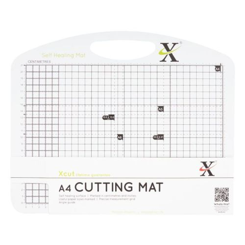 A4 Self Healing Duo Cutting Mat - Black & White