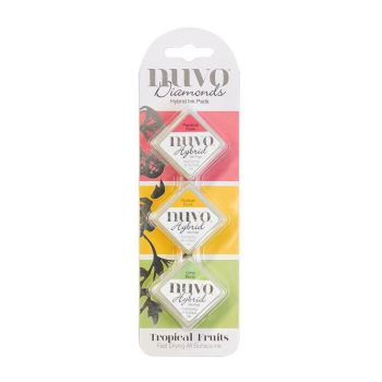 Tonic Studios Nuvo - Diamond Hybrid Ink Pads - Tropical Fruits