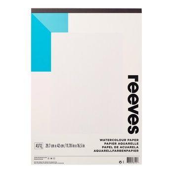 Reeves A3 Gummed 190gsm 12 Sheet Watercolour Pad