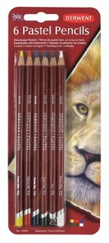 Derwent Pastel Pencil Blister of 6