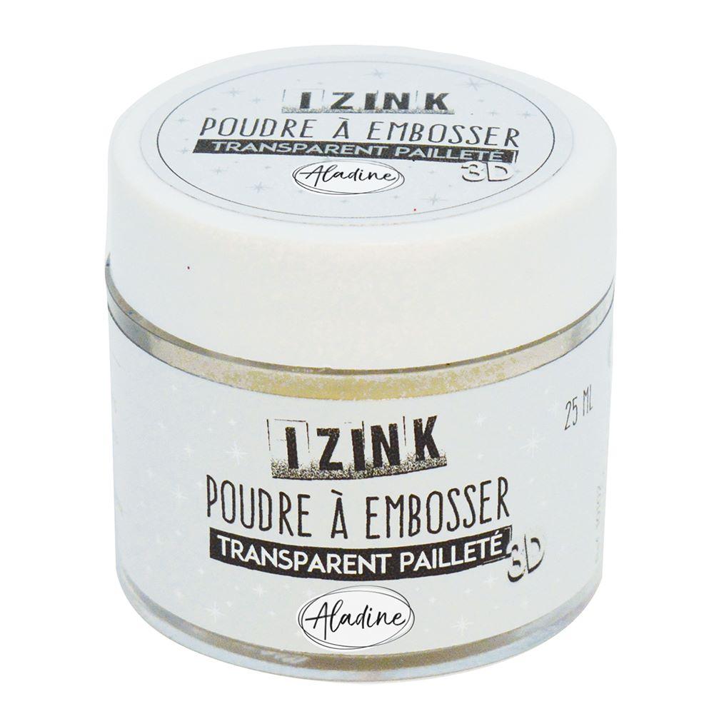 Aladine Embossing Powder - Iridescent Sparkle 25ml