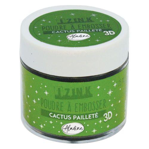 Aladine Embossing Powder - Cactus Paillete 25ml