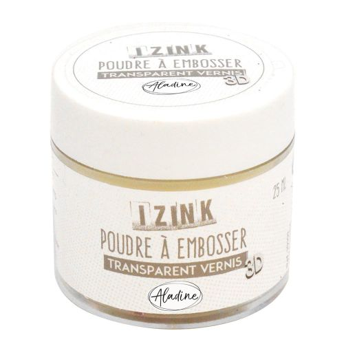 Aladine Embossing Powder - Clear High 25ml