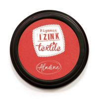 Izink Pigment Textile Stamp Pad - Santal