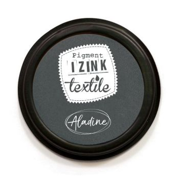 Izink Pigment Textile Stamp Pad - Stone