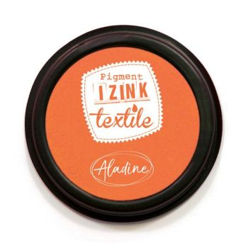 Izink Pigment Textile Stamp Pad - Orange