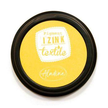 Izink Pigment Textile Stamp Pad - Jaune