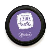 Izink Pigment Textile Stamp Pad - Grenache