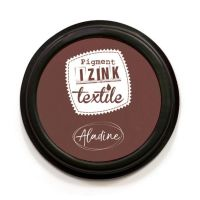 Izink Pigment Textile Stamp Pad - Wood
