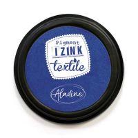 Izink Pigment Textile Stamp Pad - Indigo