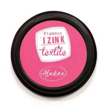 Izink Pigment Textile Stamp Pad - Dalhia