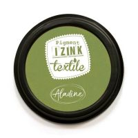 Izink Pigment Textile Stamp Pad - Absinthe