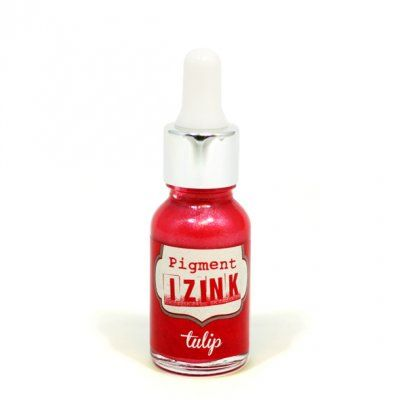 Izink Irridescent Pigment Ink - Tulip 15ml