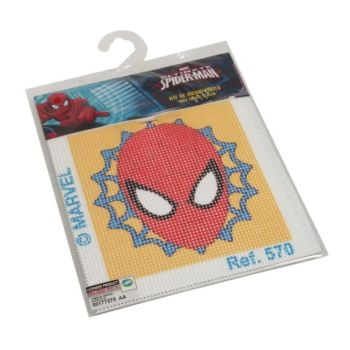 Cross Stitch Kit Spiderman