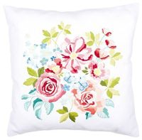 Vervaco embroidery cushion - Flower Bouquet