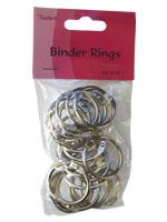 Binder Rings - 20pcs - 1""