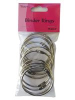 Binder Rings - 10pcs - 2""