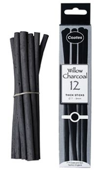 Coates Charcoal 12 Thick
