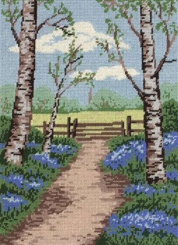 Anchor Needlepoint Tapestry Kit - Bluebell Walk