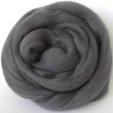 Trimits Felting Natural Wool Roving Dark Grey 10g