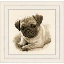 Vervaco Cross Stitch - Pug Dog