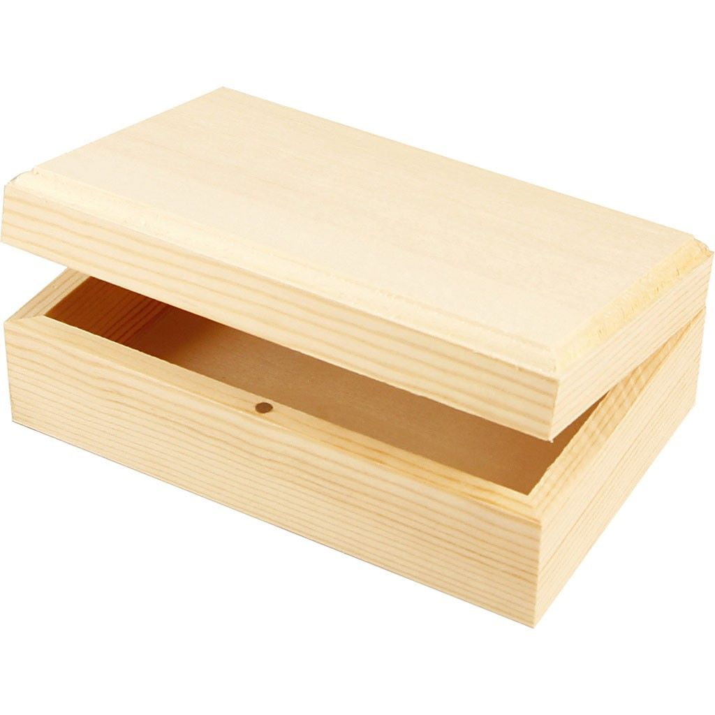 Wooden jewellery box - small