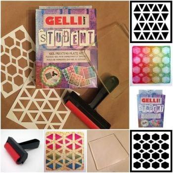 Gellis Arts Student Gel Printing Kit