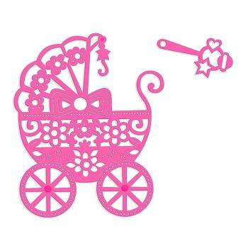 Sweet Dixie Pram & Rattle Die